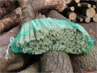 1 netted bag Kindling